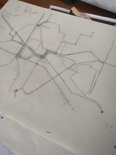 Future Christchurch Transit Map