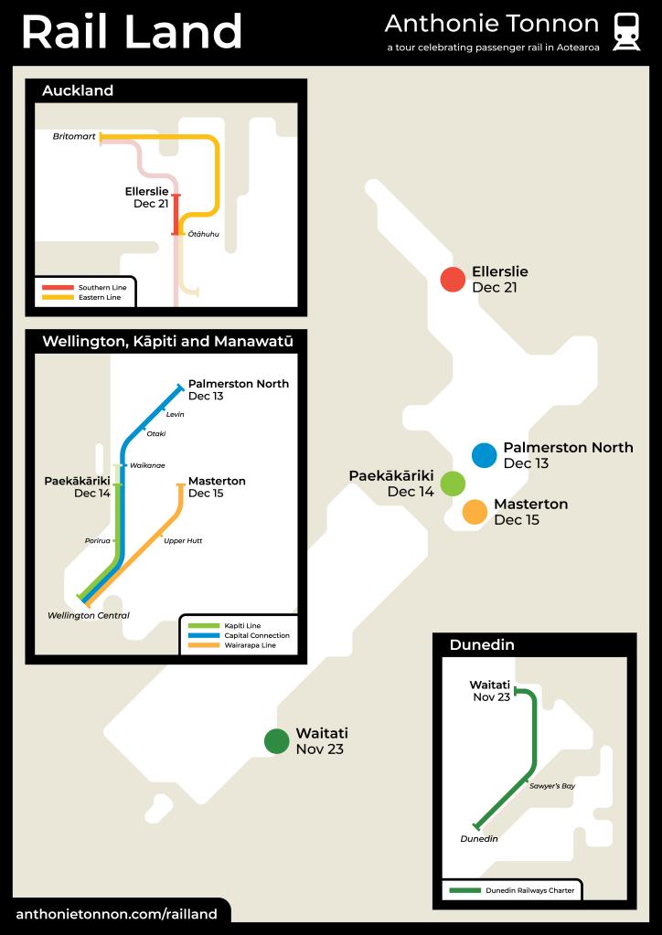 Rail Land Full Map
